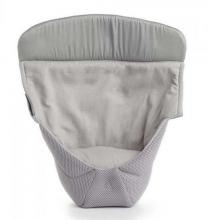 Ergobaby Neugeboreneneinsatz Performance Collection Cool Air Mesh Grey