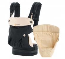 Ergobaby Von-Geburt-An-Paket 360 Collection Black/Camel