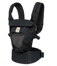 Ergobaby Komforttrage Adapt Collection Cool Air Mesh - Onyx Black