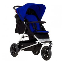 Mountain Buggy Plus One incl. second seat and matress navy
