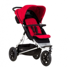 Mountain Buggy Plus One incl. second seat and matress berry