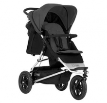 Mountain Buggy Plus One incl. second seat and matress black