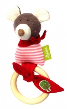 Sigikid graspy toy mouse green