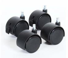 Tobi babybay parquet wheel set 4 pc. black