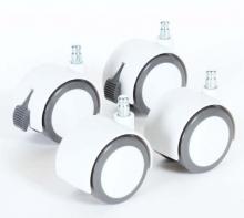 Tobi babybay parquet spool set 4 pc. white