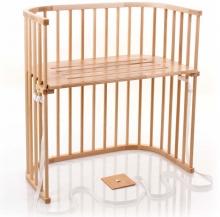 Tobi babybay rollaway bed Boxspring natural lacquered