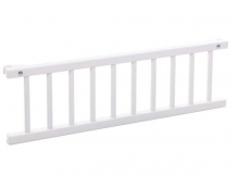 Tobi babybay grid white lacquered for Maxi/Boxspring