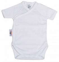 Baby Plus Schröders Wickelbody 1/4 Arm weiß 50/56