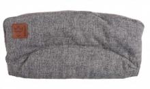 Kaiser Icey Melange Fleece Handwärmer schwarz melange