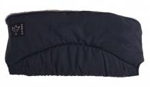 Kaiser Alaska melange fleece handmuff dark blue