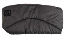 Kaiser Alaska Melange Fleece Handwärmer schwarz-melange