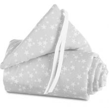 Tobi babybay nest Piqué stars pearl grey for Original