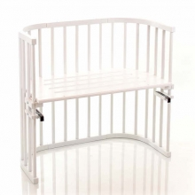 Tobi babybay rollaway bed Original white lacquered