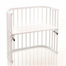 Tobi babybay rollaway bed Original white lacquered