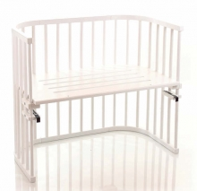 Tobi babybay rollaway bed Maxi white lacquered