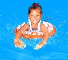 Baby Plus swimming-coach Freds Classic orange 2-6 years