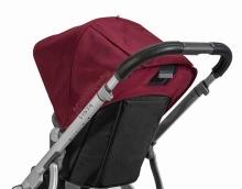 Uppa Baby Lederbezug für Schiebegriff für Vista schwarz