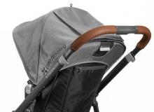 Uppa Baby Lederbezug für Schiebegriff für Vista braun