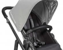 Uppa Baby Lederbezug für Sicherheitsbügel für Vista schwarz