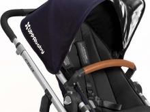 Uppa Baby Lederbezug für Sicherheitsbügel für Vista braun