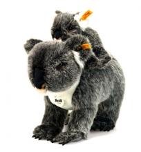 Steiff Koala mit Baby 31 grau/weiß gespritzt