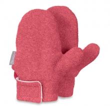 Sterntaler gloves size 3 berry red