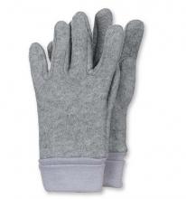 Sterntaler gloves size 4 silver melange