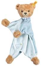 Steiff sleep-well-bear comforter 30 blue