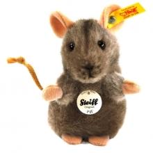 Steiff mouse Pfiff 10 grey attending