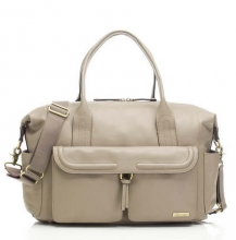 Storksak changing bag Charlotte Leather Clay