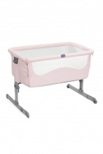 Chicco baby cot Next2me French rose inkl. transportbag