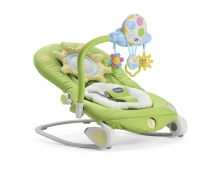 Chicco Wippe Balloon Summer Green mit Vibrationsfunktion