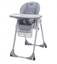 Chicco Highchair Polly Easy with 4 wheels nature