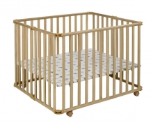 Geuther 2260/032 playpen Amelie nature