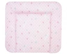 Alvi Wickelauflage Wiko Molly beschichtet Sternenschloss rosa 70x85