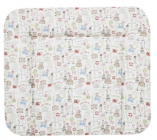 Alvi changing mat Wiko Molly laminated traveler colourful 70x85