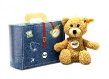 Steiff Teddybär Sunny 22 beige im Koffer