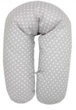 Alvi nursing pillow compl. stars grey - little star