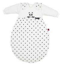 Alvi Baby-Mäxchen® 3 tlg. s.Oliver 50/56 Pandabär schwarz