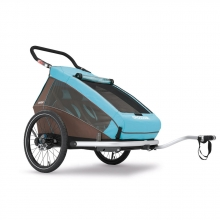 Croozer Kid Plus for 2 sky blue , inkl. Licht