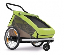 Croozer Kid for 2 meadow green