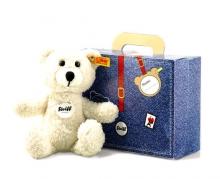 Steiff Teddybär Sunny 22 creme Koffer