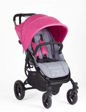 Valco Baby Snap 4 Original Space Grey inkl. Dach fuchsia