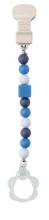 Nattou Schnullerkette blau