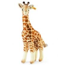Steiff giraffe Bendy 45 beige/brown standing