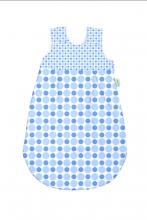Odenwälder Jersey Schlafsack Basic 90 cm bleu & blue