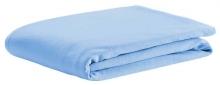 Odenwälder Spannbetttuch Jersey hellblau 70x140cm
