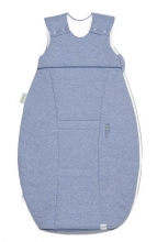 Odenwälder jersey sleeping bag airpoints 70 cm melange blue