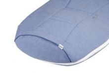 Odenwälder jersey sleeping bag airpoints 70 cm melange blue
