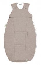 Odenwälder Jersey-Schlafsack Airpoints 70 cm melange latte